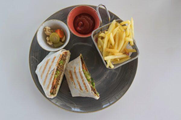 Camel burger au 999 Café de Doha