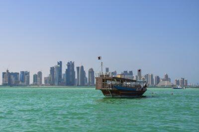 Balade sur la corniche de Doha