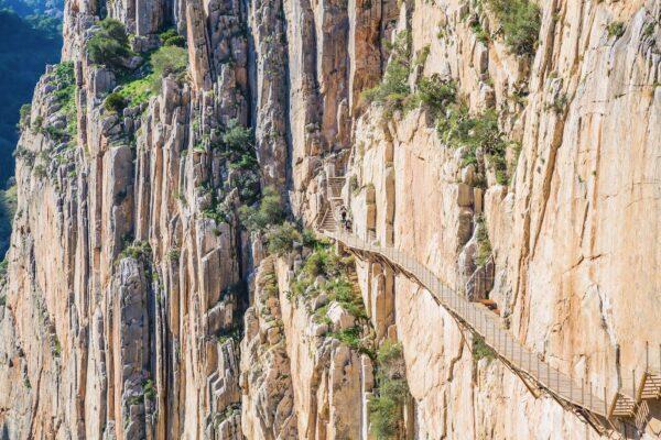 Caminito del Rey, via ferrata en Andalousie