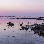 Coucher de soleil au Qatar