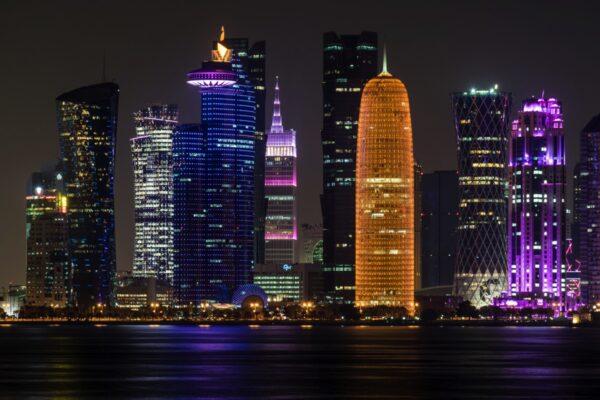 Downtown Doha de nuit