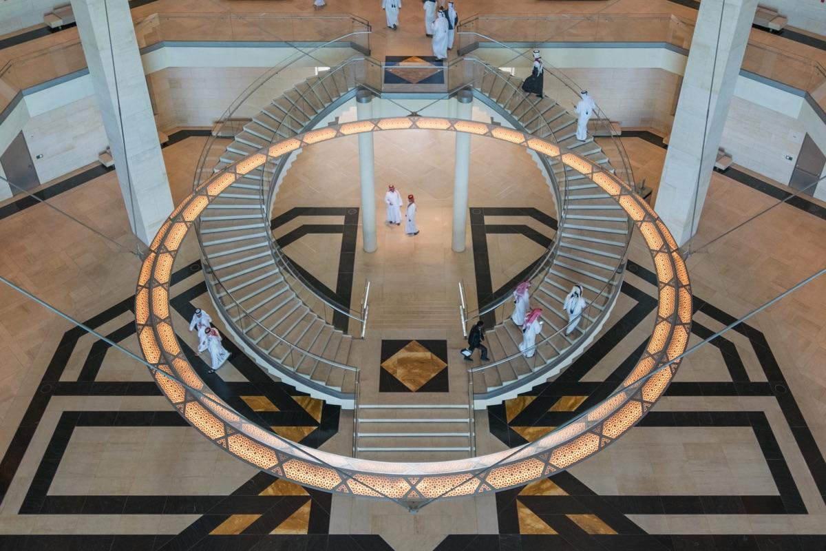 Intérieur du musée d'art islamique de Doha