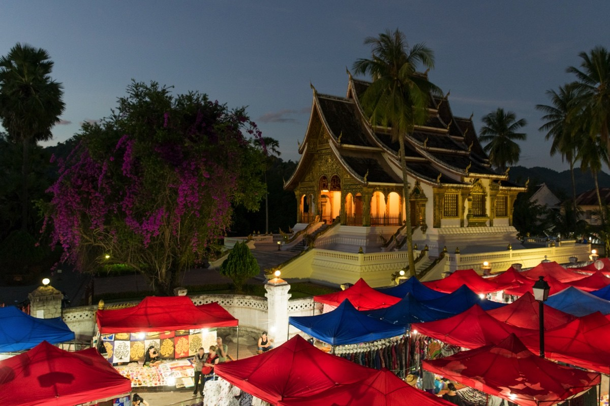 Night market de Luang Prabang