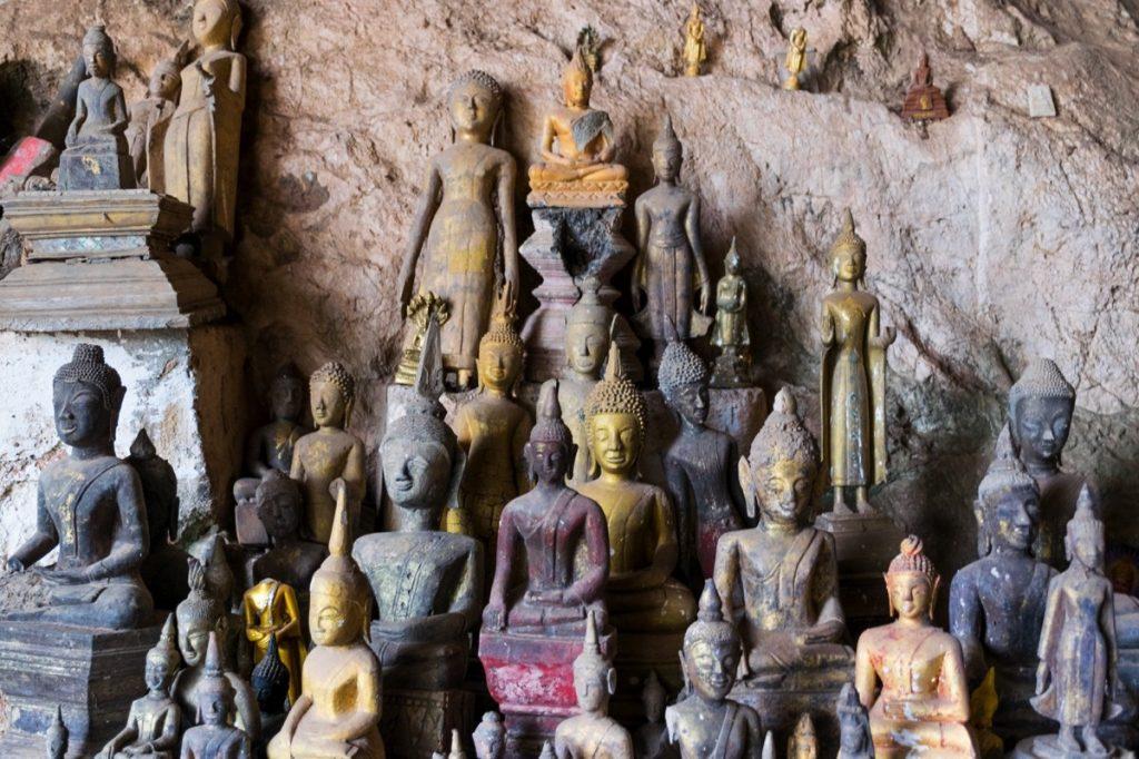 Pak Ou Caves au Laos
