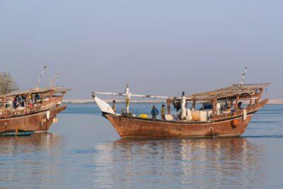Retour de pêche à Al Khawr