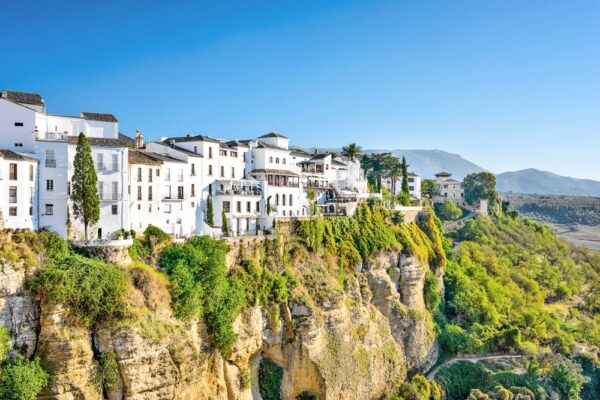Ronda, un village blanc en Andalousie