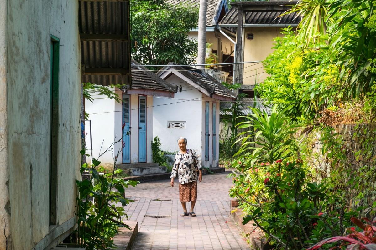Ruelle de Luang Prabang
