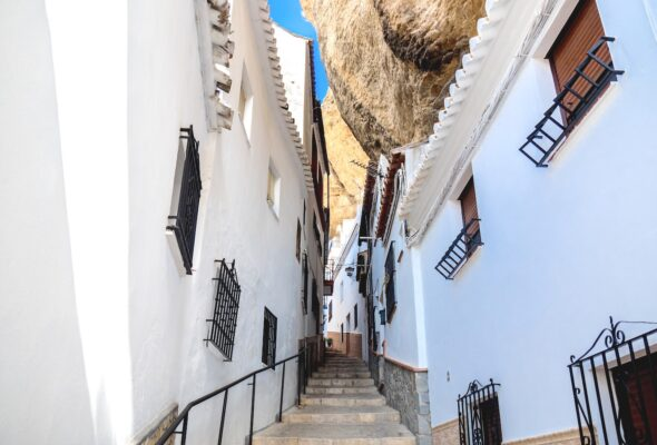 Villages blancs en Andalousie