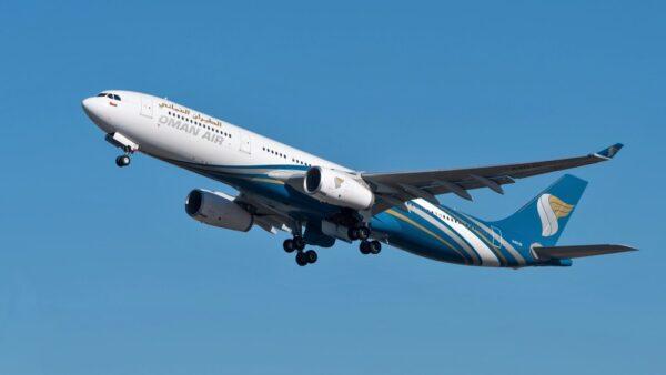 Vol pour Mascate à Oman