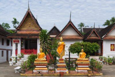 Wat Mai à Luang Prabang
