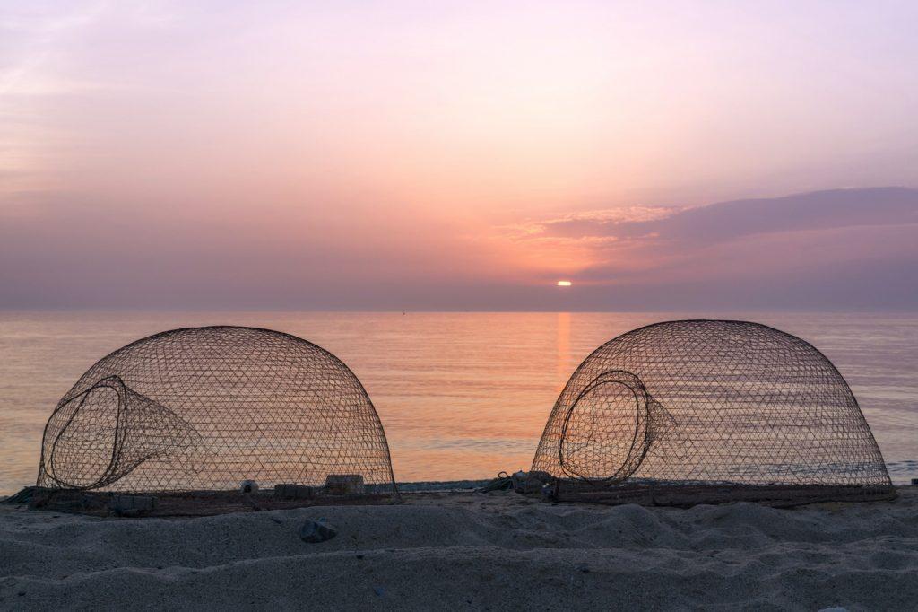Coucher de soleil à Oman