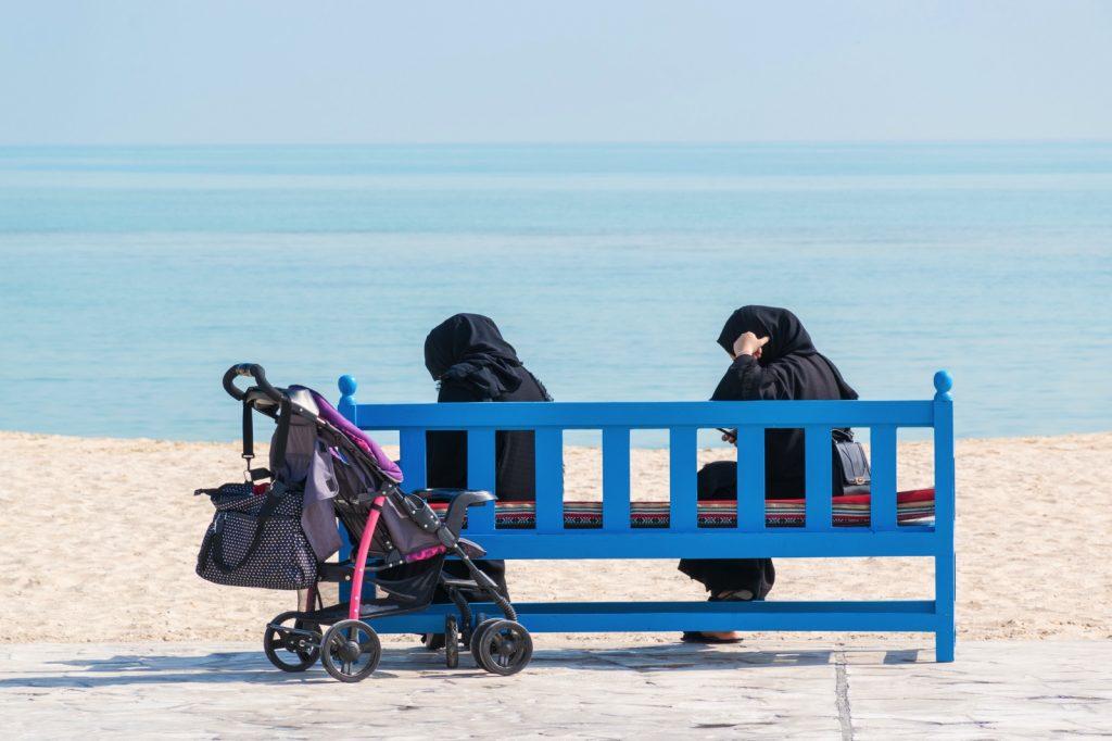 Face à la mer à Al Wakrah