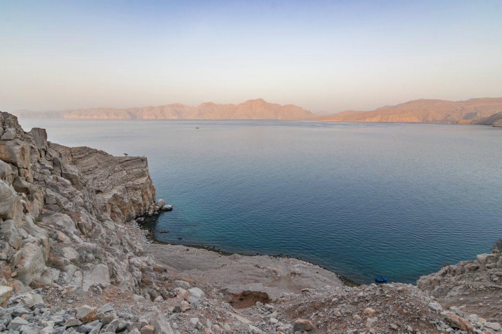 Fjord de Musandam à Oman