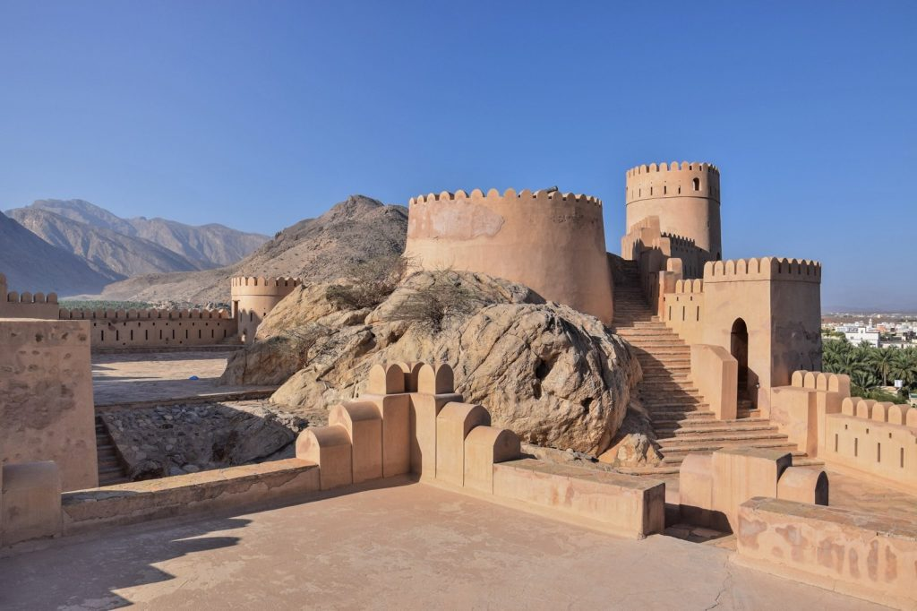 Fort de Nakhl à Oman