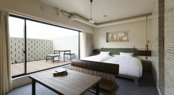 Se loger à Kyoto : Anteroom Hotel