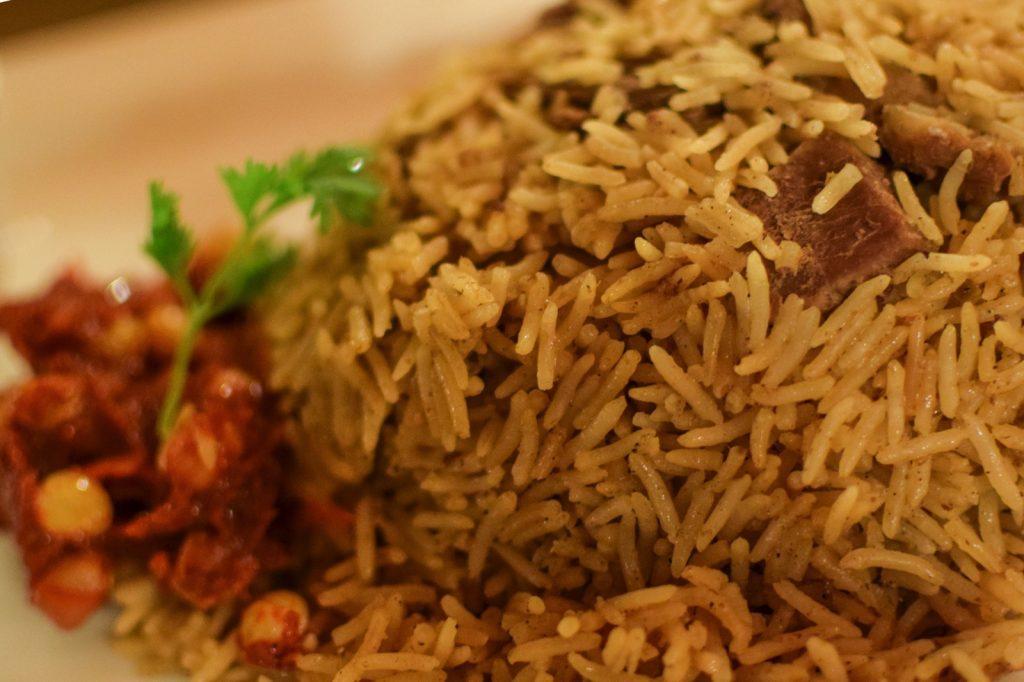Machboos, plat typique omanais
