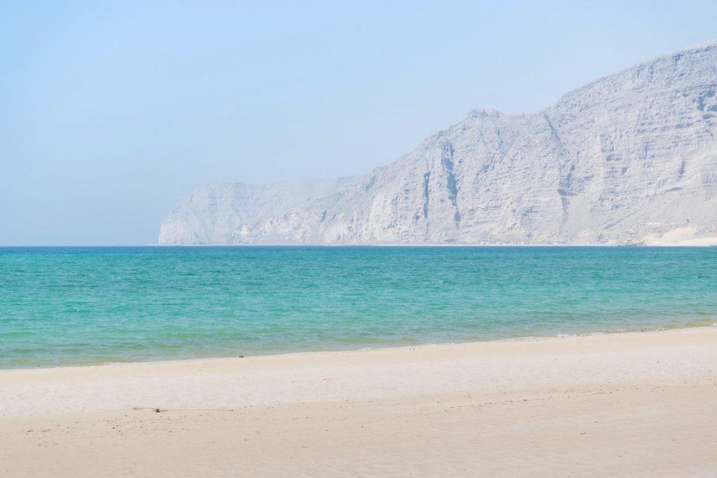 Plage du sultanat d'Oman