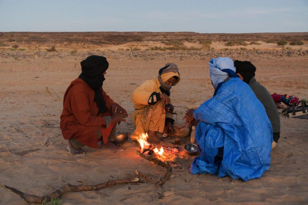 Bivouac en Mauritanie