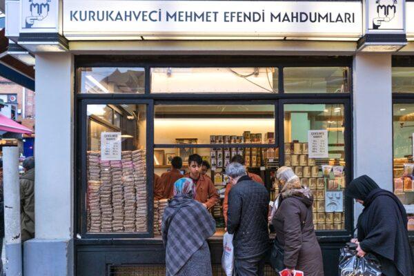 Café à Istanbul