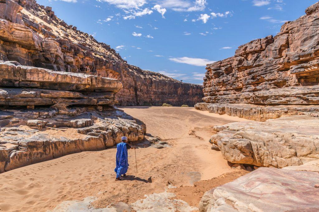Canyon de Mhaireth en Mauritanie