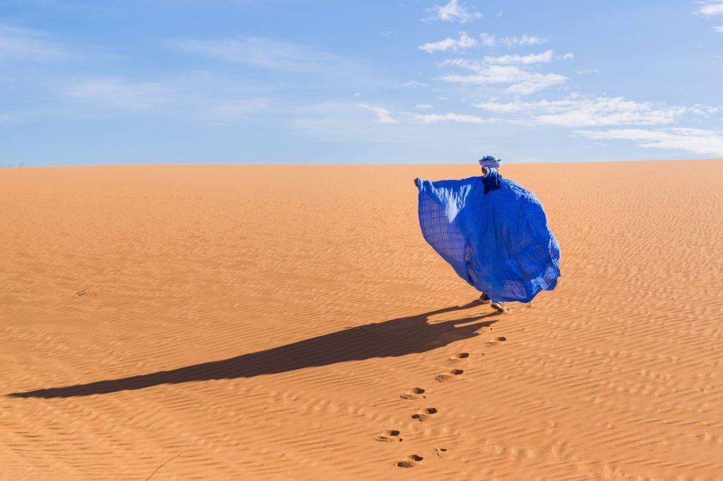 Dunes dans l'Adrar mauritanien
