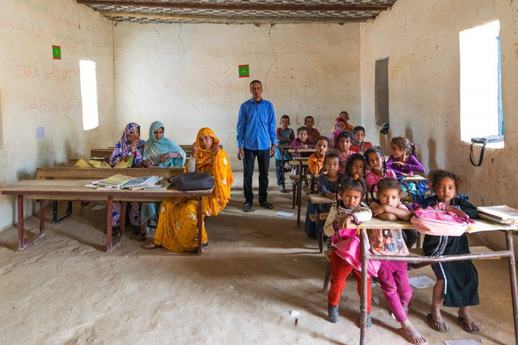 Ecole à Tergit en Mauritanie