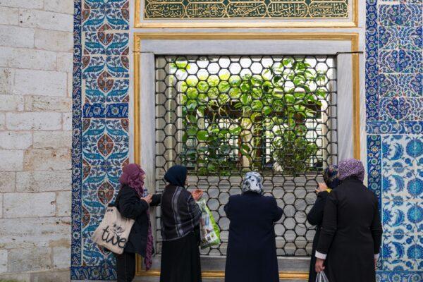 Mosquée d'Eyüp à Istanbul