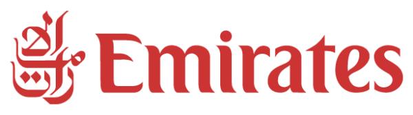 Logo de la compagnie aérienne Emirates