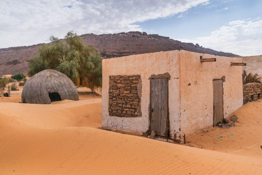 Maison dans le village de Tergit