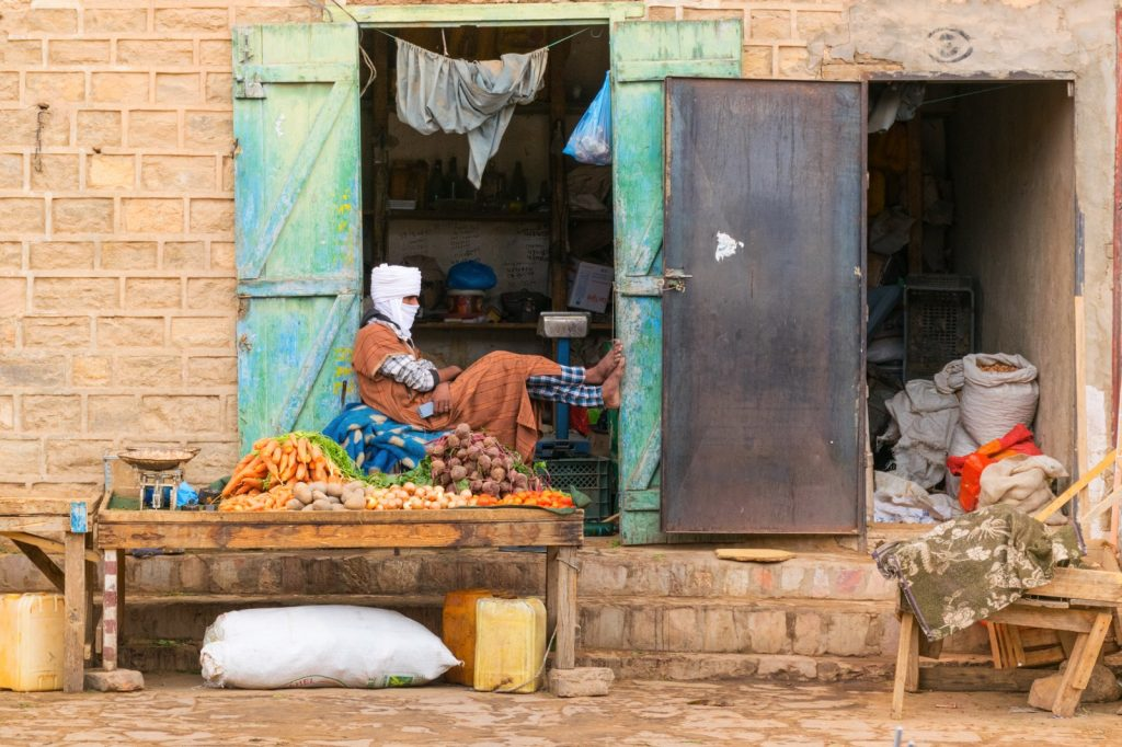 Marché d'Atar en Mauritanie