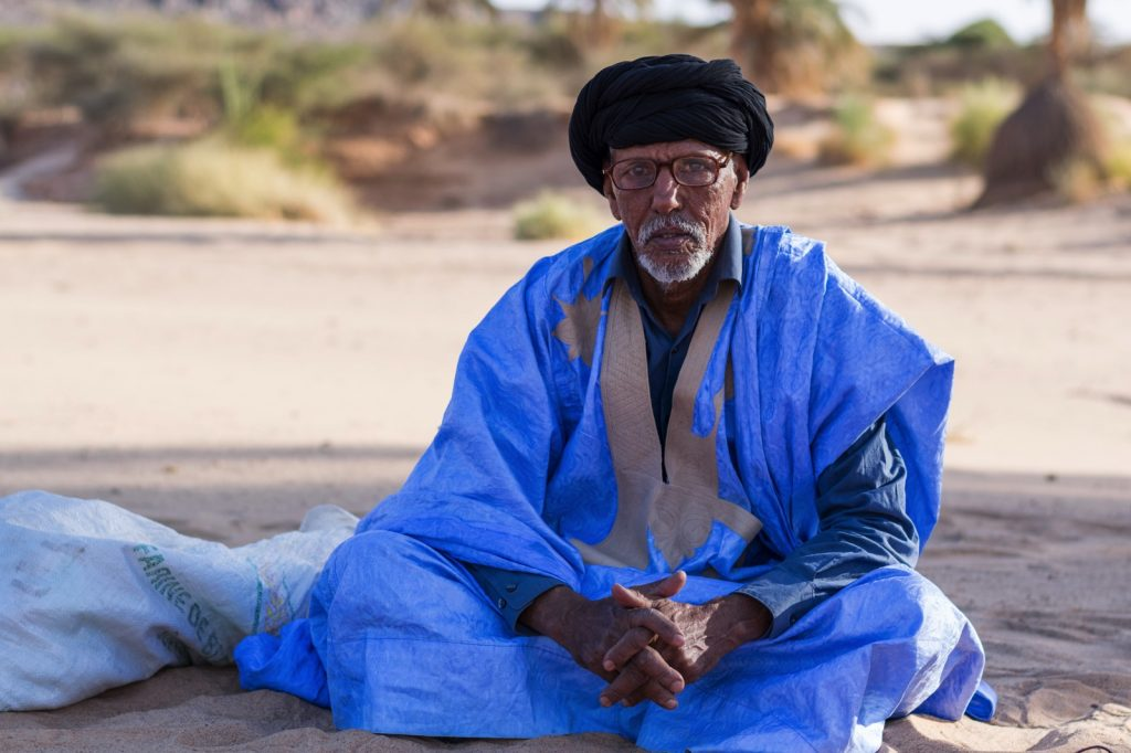 Portrait d'un mauritanien