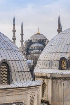 Mosquée Bleue depuis Sainte-Sophie