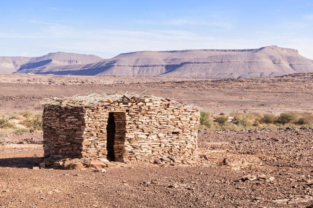 Panorama dans l'Adrar en Mauritanie