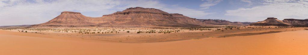 Panorama en Mauritanie dans l'Adrar