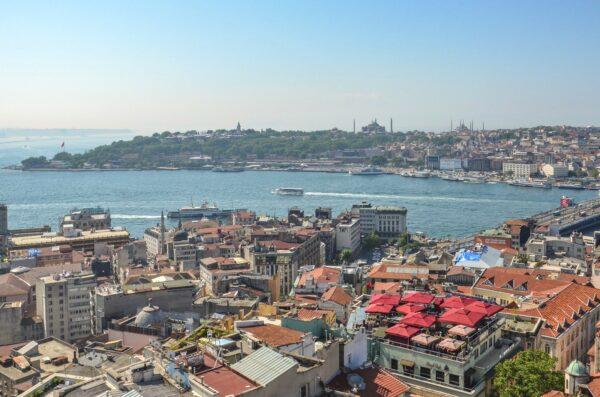 Panorama depuis la tour de Galata