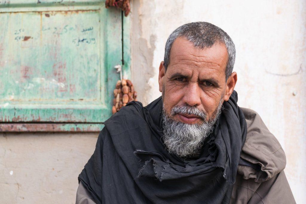 Portrait d'Ahmed sur le marché d'Atar