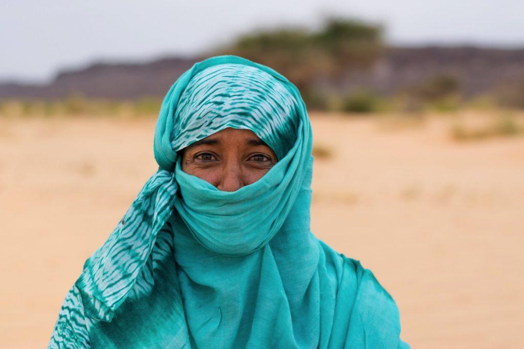 Portrait de Baiba en Mauritanie