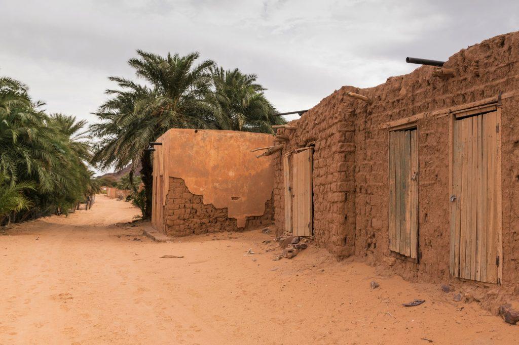 Randonnée en Mauritanie : village abandonné