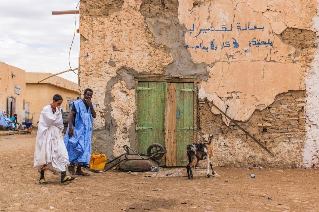 Rue d'Atar en Mauritanie