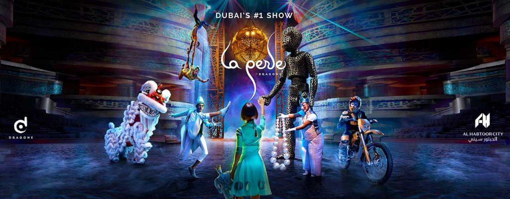 Spectacle La Perle à Dubaï