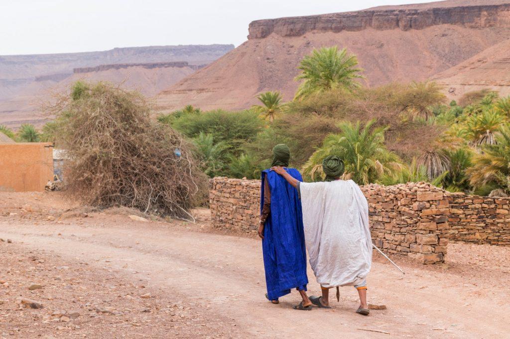 Village de Tergit en Mauritanie