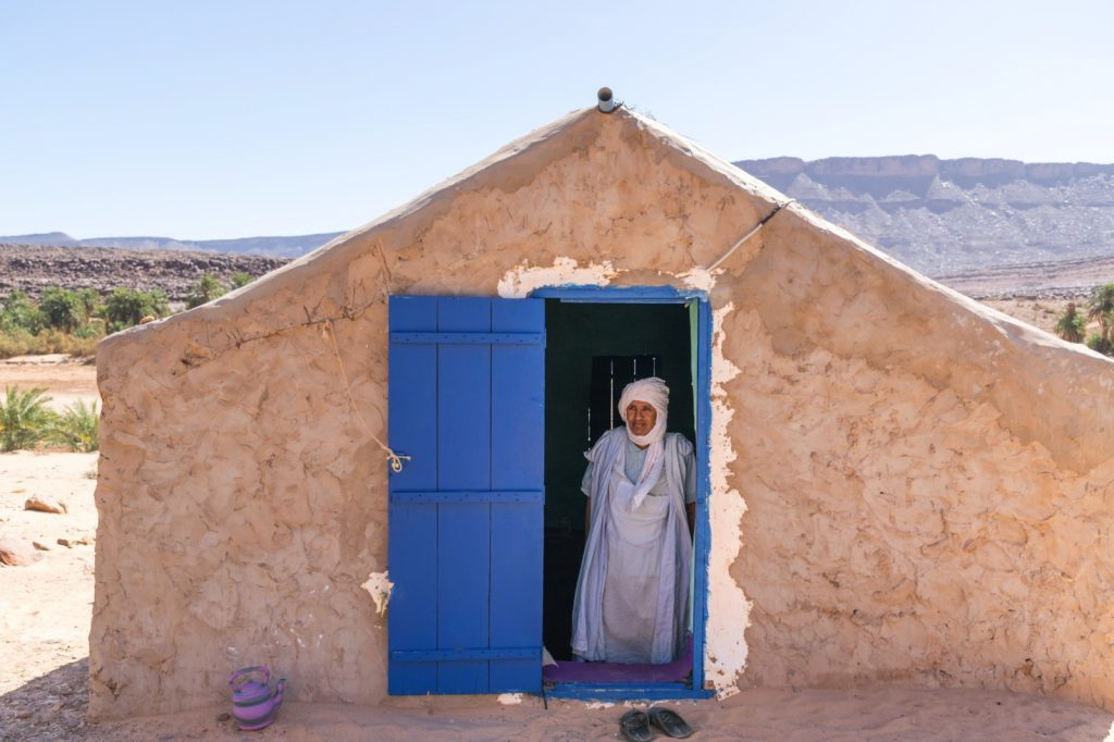 Village dans l'oued Seguelil