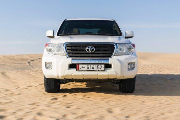 4x4 dans le désert du Qatar