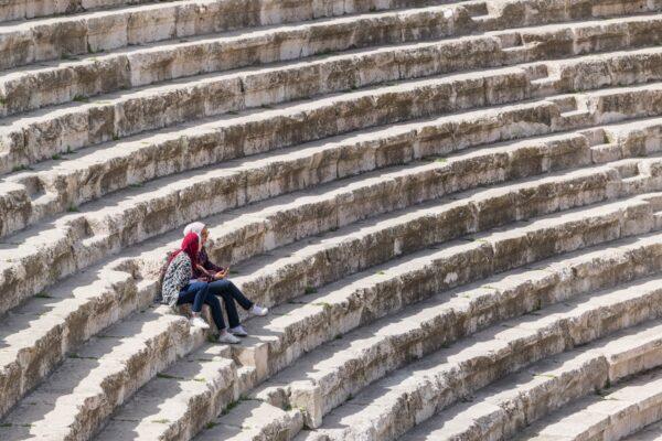 Amphithéâtre d'Amman en Jordanie
