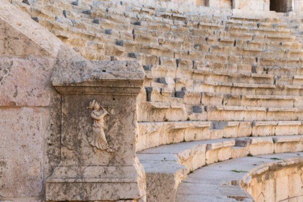 Amphithéâtre de Jerash en Jordanie