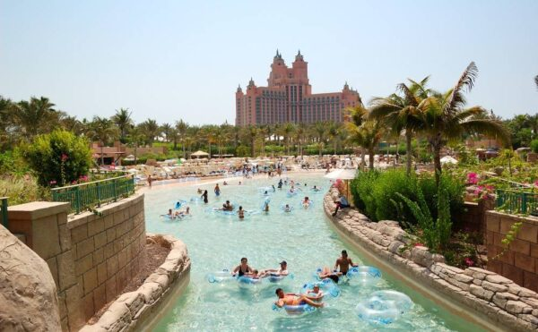 Aquaventure water park, parc aquatique à Dubai