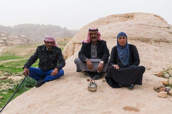 Bédouin en Jordanie