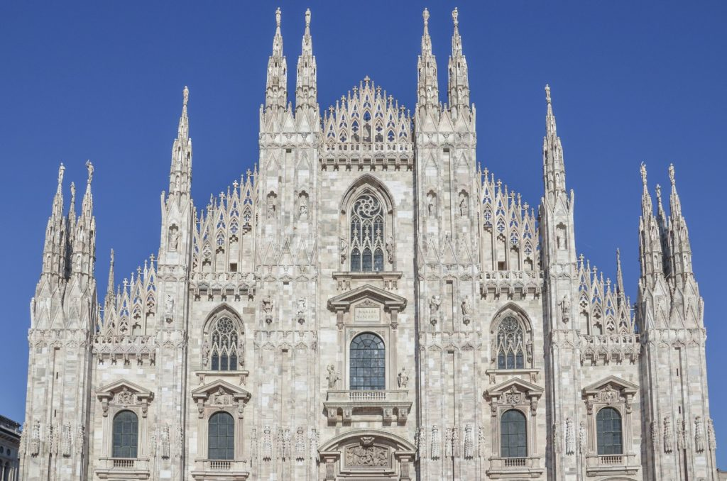 Cathédrale de Milan appelée Dôme de Milan