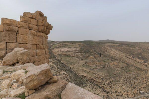 Château de Shobak en Jordanie