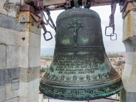 Cloche du campanile de Pise